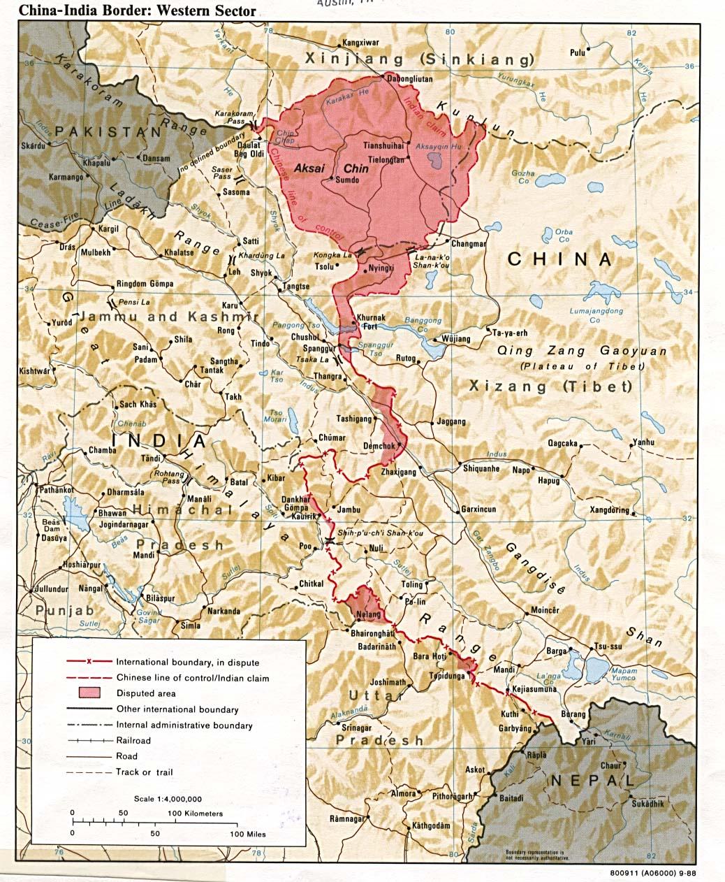중국-인도의 국경분쟁